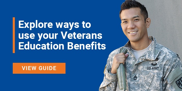 Explore ways to use you Post-9/11 GI Bill benefits >>