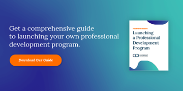 Get a comprehensive guide to launching your own professional development program. Download Our Guide  data-verified=
