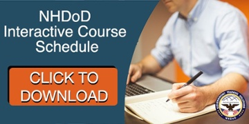 NHDoD Interactive Course Schedule - Click to Download