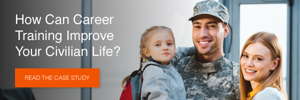 How can career training improve your civilian life? Read the case study >>