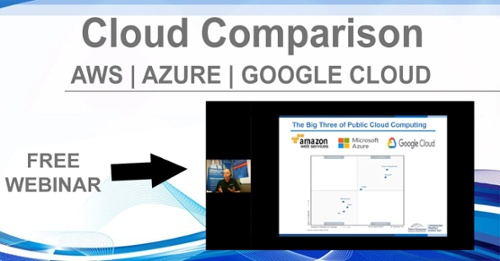 Cloud Comparison AWS Azure Google