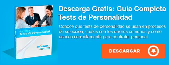 Descarga Guía de Tests de Personalidad Para Contratar Personal