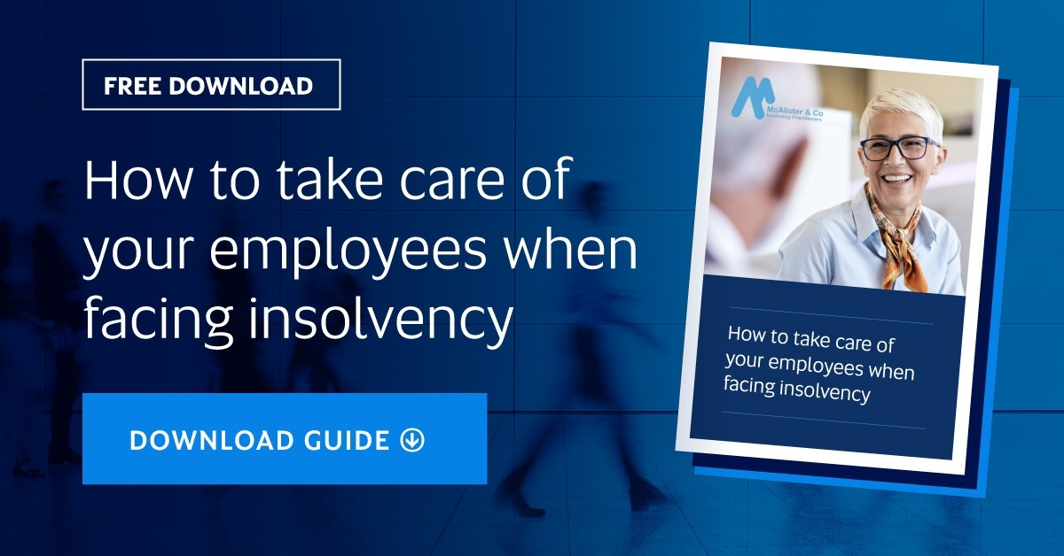 How to take care of your employees when facing insolvency