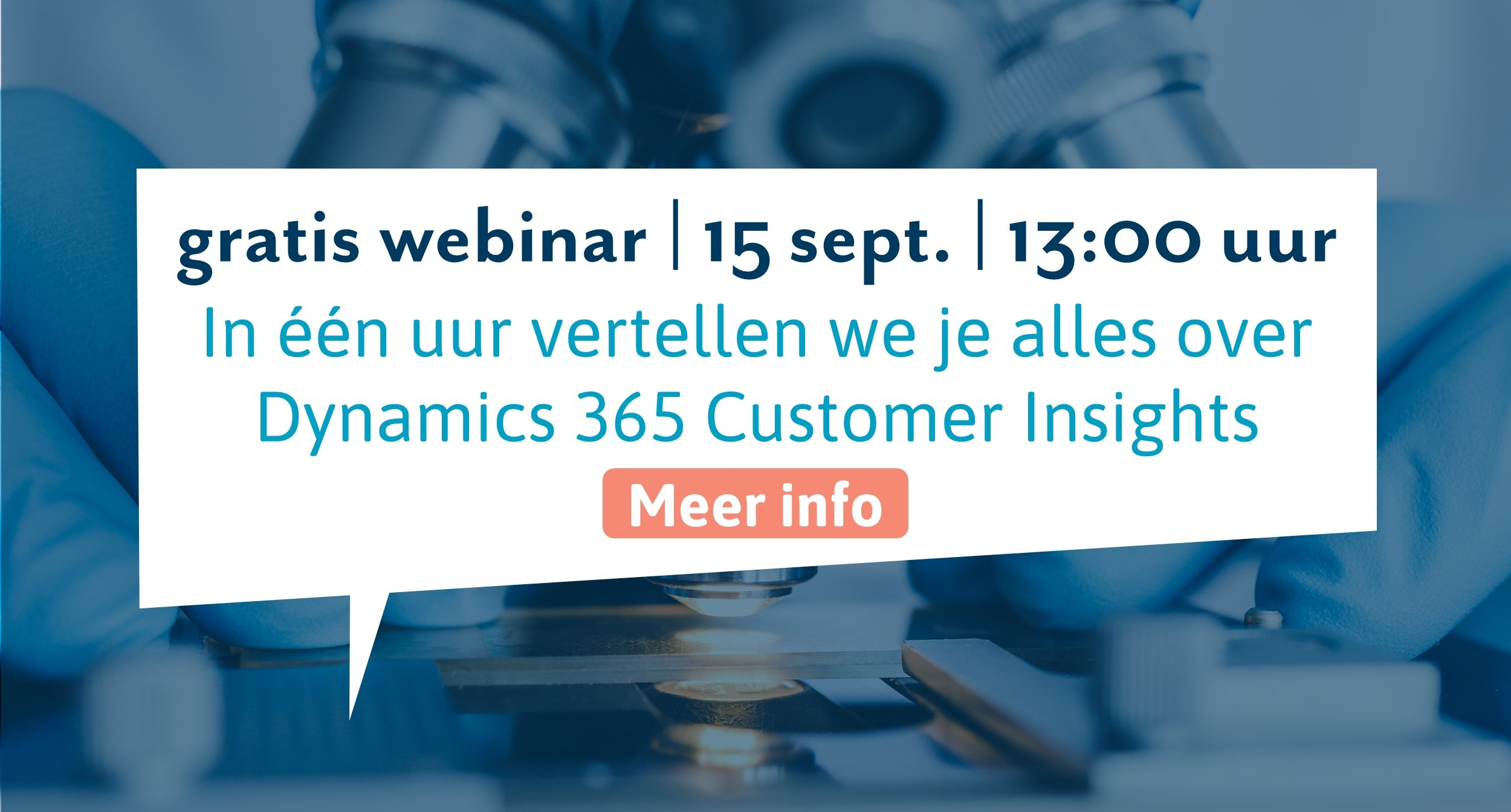 Webinar Customer Insights - 15 september