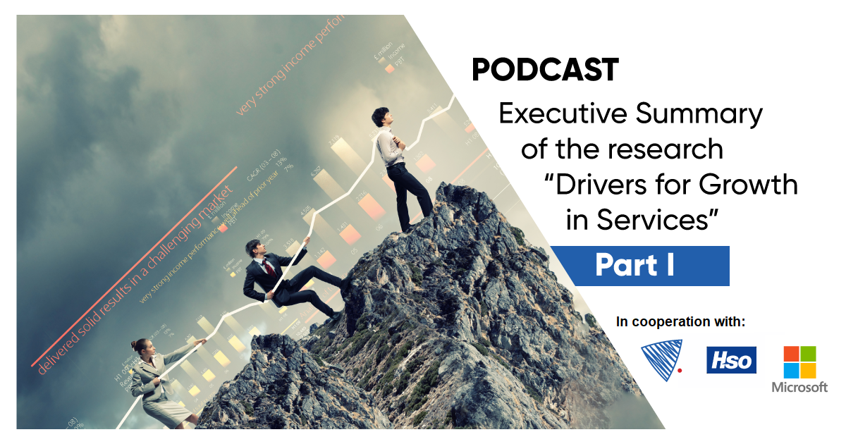 Drivers for Growth in Service - podcast 1