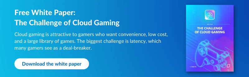 Snapt CTA: Free white paper: The Challenge of Cloud Gaming