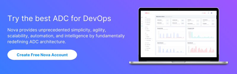Try the best ADC for DevOps