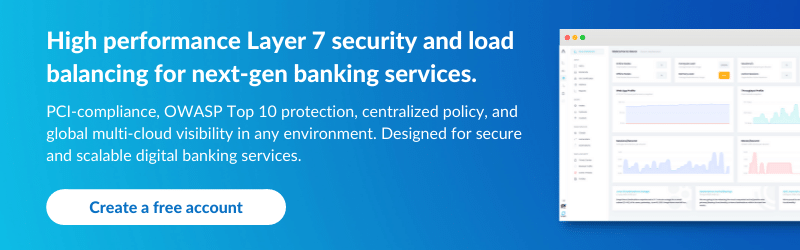 Snapt CTA: Security and load balancing for banking services