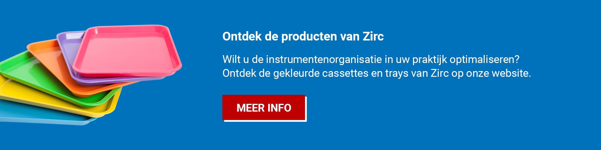 Ontdek de Zirc instrumenten trays voor tandartsen