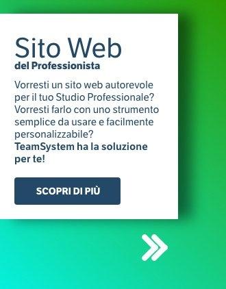 sito web professionista