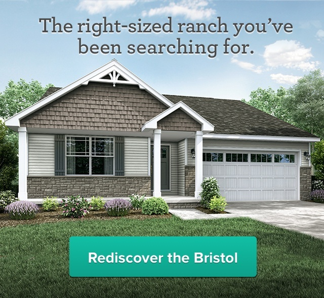 Rediscover the Bristol: the right-sized ranch you've been searching for.