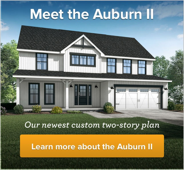Meet the Auburn II: our newest custom two-story plan. Learn more