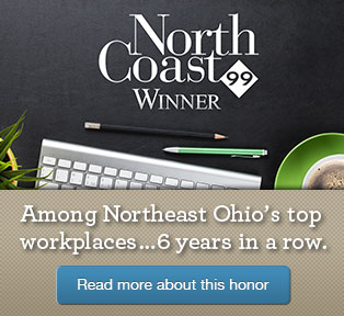 Among Northeast Ohio's top workplaces...6 years in a row