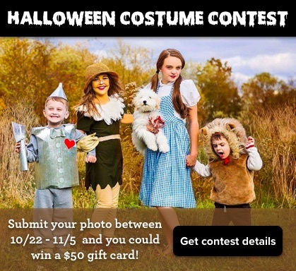 Enter the Wayne Homes Halloween Costume Contest