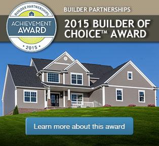 2015 Builder of Choice Award