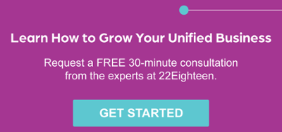 Free 30-minute inbound sales and marketing consultation to unify your business