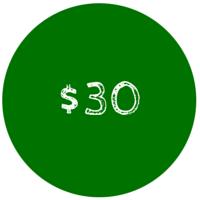 30 Dollar Gift Card