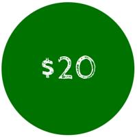 20 Dollar Gift Card