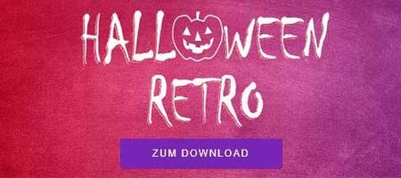 HALLOWEEN-RETROSPEKTIVE Alle Materialien zum kostenlosen Download