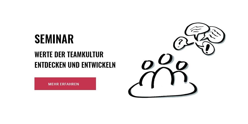 Seminar: Werte der Teamkultur entdecken und entwickeln