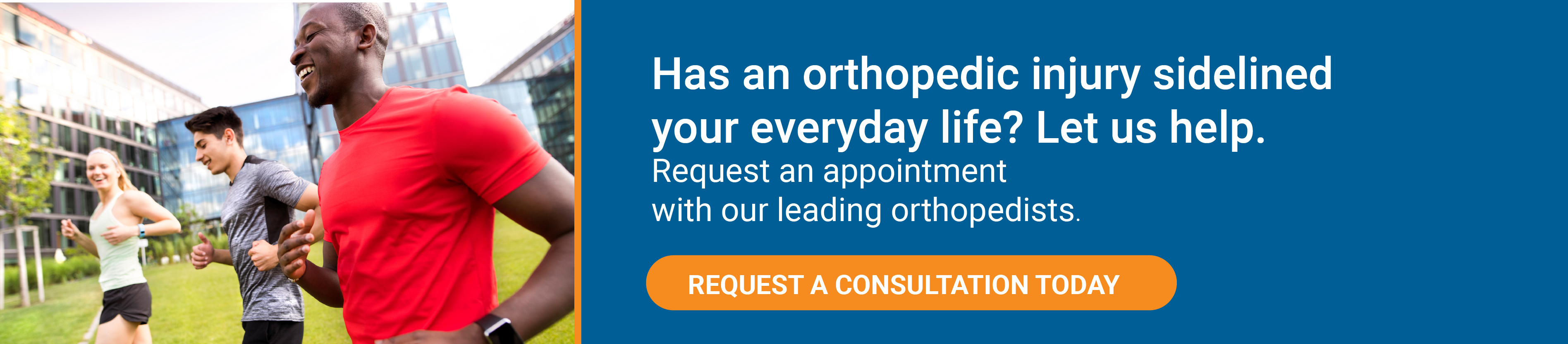 DISC Specializes in Orthopedic Injuries