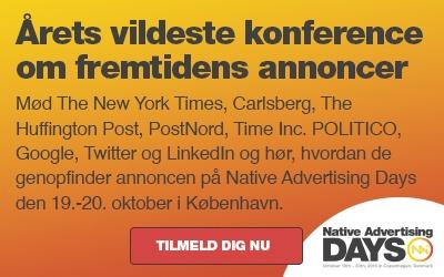 Tilmelding til Native Advertising Days