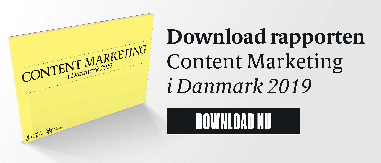 rapport content marketing i danmark 2019