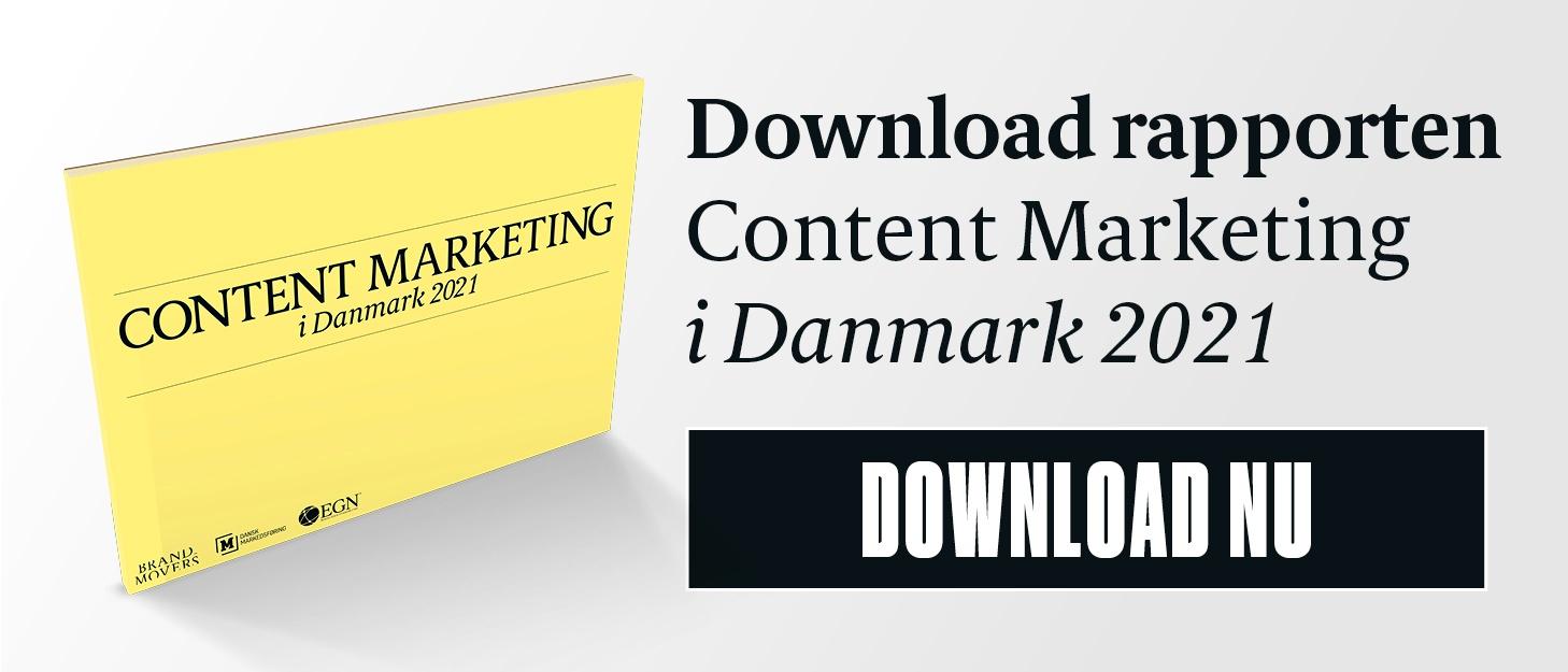 Download den samlede Content Marketing i Danmark 2020 rapport her