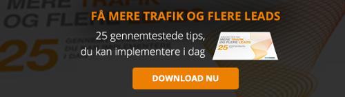 Gratis e-bog: Få mere trafik og flere leads