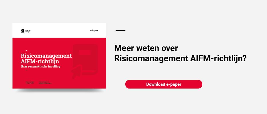 e-Paper risicomanagement AIFM-richtlijn