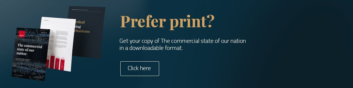 Prefer print? Get your copy of The commercial state of our nation in a downloadable format