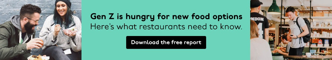 GZI - Gen Z is hungry for new food options. Learn what restaurants need to know