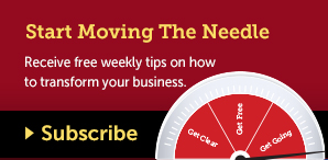 Subscribe via email. Receive free weekly tips on how to transform your business.
