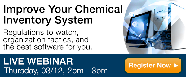 Improve Your Chemical Inventory System Webinar