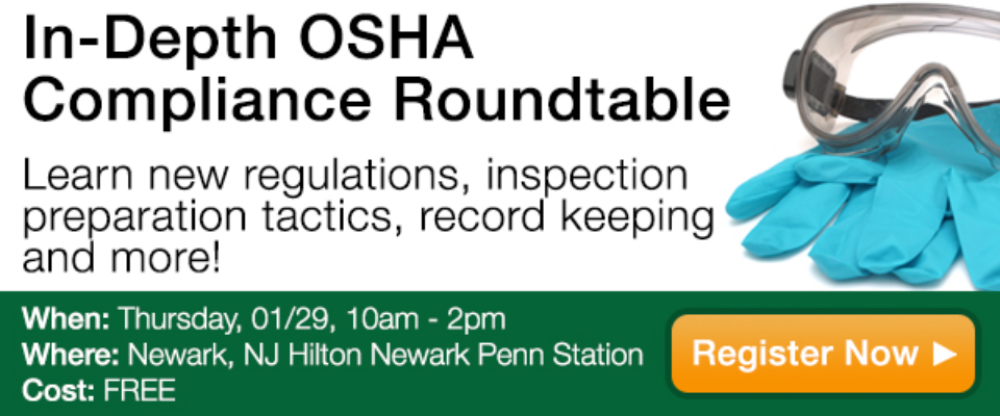 In Depth OSHA Compliance Roundtable