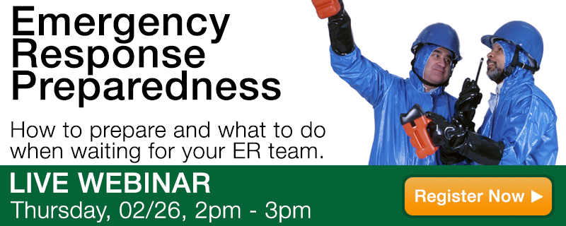 Emergency Response Preparedness Webinar
