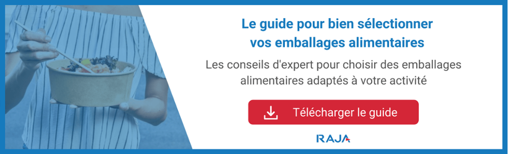Guide pour choisir vos emballages alimentaires
