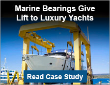Marine Bearings Give Lift to Luxury Yachts
