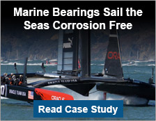 Marine Bearings Sail the Seas Corrosion Free