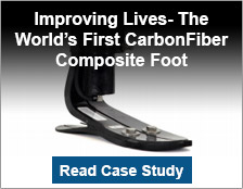 Improving Lives-The World's First Carbon-Fiber Composite Foot