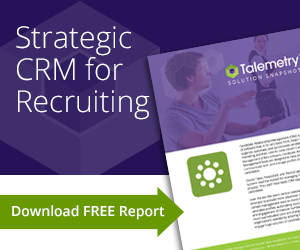 Strategic CRM for Recruiting