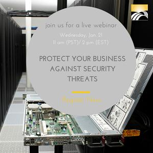 Security Webinar Registration Button