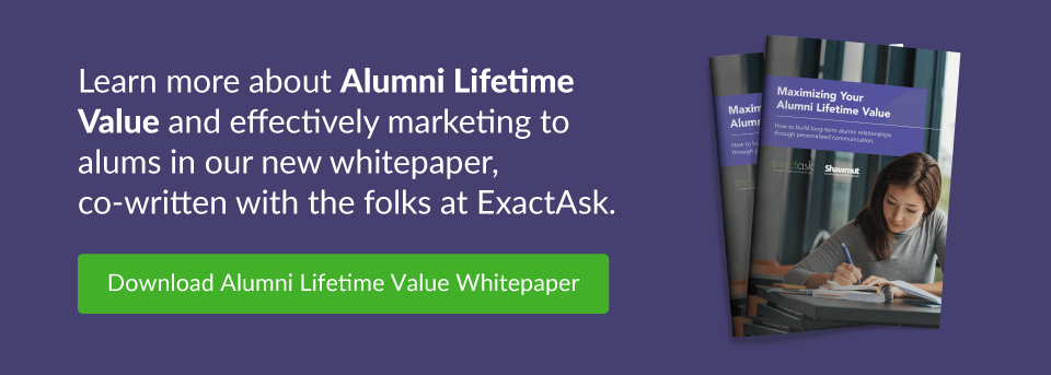 Download Alumni Lifetime Value Whitepaper