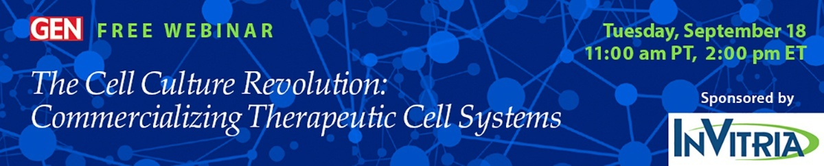join the cell culture revolution webinar!