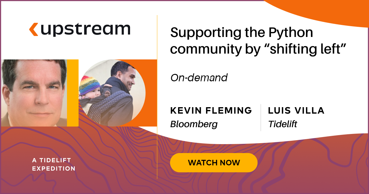 """Supporting the Python community by """"shifting left"""""""