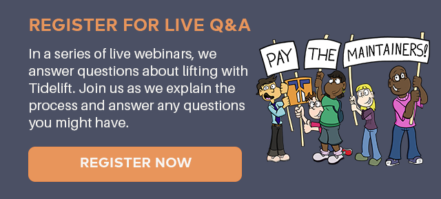 Pay the maintainers: Live Q&A