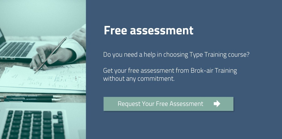 Free assessment to choose best Type Training from Brok-air Training
