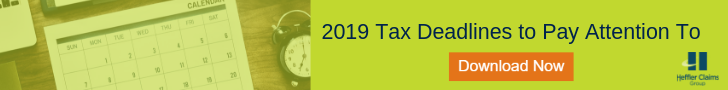 2019 Tax Deadlines to Pay Attention To