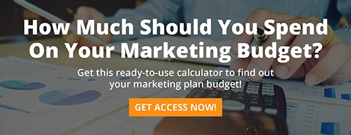 How much should you spend on your marketing budget? Get this ready-to-use calculator to find out your marketing plan budget!