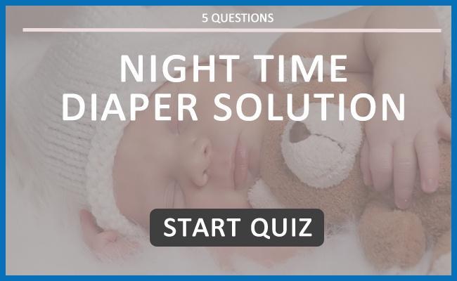 Night Time Diaper Solution Quiz